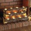 Wildon Home ® Kirkley Tealight Fireplace Log