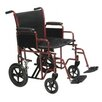 <strong>Drive Medical</strong> Steel Transport Bariatric Wheelchair