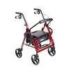 Drive Medical Duet Rolling Walker/Transport Chair