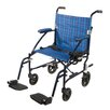 "Drive Medical Fly-Lite 19"" Lightweight Transport Wheelchair"