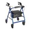 <strong>Drive Medical</strong> Fold Up and Removable Back Support Rolling Walker