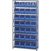 "<strong>12"" Giant Open Hopper Shelf Storage System</strong> by Quantum Storage"