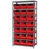 "Quantum Storage 18"" Giant Open Hopper Shelf Storage System"