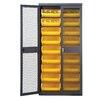 "Quantum Storage Mesh Safe-View 78"" H x 36"" W x 18"" D Storage Cabinet"