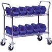 "Quantum Storage 40"" Mobile Wire Cart"