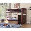 Boraam Industries Inc Twin Over Twin Bunk Bed