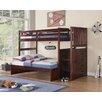 Boraam Industries Inc Twin Over Full Bunk Bed