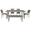 Boraam Industries Inc Fresca 6 Piece Dining Set