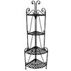 <strong>Corner Baker's Rack</strong> by Pangaea Home and Garden