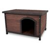 Petmate Aspen Pets Ruff Hauz Wood Offset Dog House