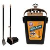 "Petmate '32"" Swivel Bin and Rake"