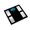 Escali Glass Body Fat & Body Water Muscle Mass Bathroom Scale