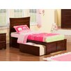 Atlantic Furniture Urban Lifestyle Metro Bed with Bed Drawers Set