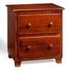 Atlantic Furniture 2 Drawer Nightstand