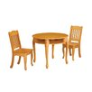 Teamson Kids Windsor 3 Piece Round Table and Chair Set