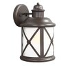 Sea Gull Lighting Lakeview 1 Light Outdoor Wall Lantern