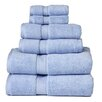 Simple Luxury Superior 900GSM Egyptian Cotton 6 Piece Towel Set