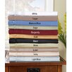 650 Thread Count Egyptian Cotton Solid Olympic Queen Sheet Set