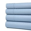 Simple Luxury Cotton Rich 600 TC Olympic Queen Solid Sheet Set