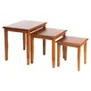 <strong>Ancient Mariner</strong> Victorian 3 Piece Nest of Tables