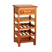 <strong>Mahogany Village Small Wine Rack</strong> by Ancient Mariner