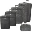 <strong>McBrine Luggage</strong> 5 Piece Upright Luggage Set