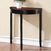 Linon Camden Demilune Console Table