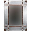 <strong>Aluminum Framed Wall Mirror</strong> by Linon