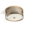 <strong>Feiss</strong> Arabesque 2 Light Flush Mount