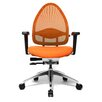 "Topstar Drehstuhl ""Open Base 10"" in Orange"