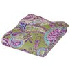 <strong>Greenland Home Fashions</strong> Portia Paisley Cotton Throw