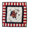 <strong>Colonial Santa Toss Pillow</strong> by Patch Magic