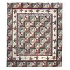 <strong>Woodland Star and Geese Quilt</strong> by Patch Magic