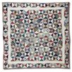 <strong>Kaleidoscope Cotton Throw Quilt</strong> by Patch Magic