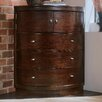 American Drew Tribecca Corner 3 Drawer Chest