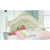 <strong>Emma's Treasures Low Poster Headboard and Metal Frame with Casters</strong> by Lea Industries