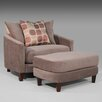 <strong>Zora Chair and Ottoman</strong> by Wildon Home ®