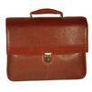 <strong>Dr. Koffer Fine Leather Accessories</strong> Mason Leather Laptop Briefcase