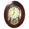 <strong>Grand Nostalgia Entertainer Wall Clock</strong> by Rhythm U.S.A Inc