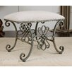 Uttermost Yvanna Metal Bench