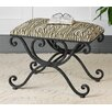 <strong>Aleara Wrought Iron Bench</strong> by Uttermost
