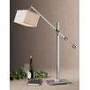 """<strong>Uttermost</strong> Waldron 46"""" H Table Lamp with Rectangle Shade"""