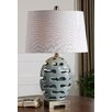 """Uttermost Turkana 25.5"""" H Table Lamp with Oval Shade"""