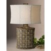 """Uttermost Cestino 27.5"""" H Table Lamp with Oval Shade"""