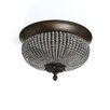 <strong>Uttermost</strong> Cristal de Lisbon 2 Light Flush Mount