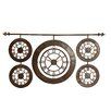 Uttermost Time Zones Hanging Wall Clock