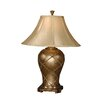 "<strong>Crisscross 32"" H Table Lamp with Bell Shade</strong> by Uttermost"