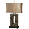 "<strong>Tarin 35"" H Table Lamp with Rectangle Shade</strong> by Uttermost"