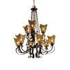<strong>Uttermost</strong> Vetraio 9 Light Chandelier