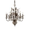 <strong>Cristal de Lisbon 8 Light Chandelier</strong> by Uttermost